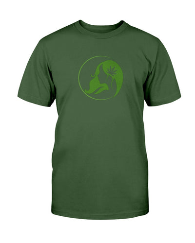 Ms. Mary's Short Sleeve T-shirt (Large Green Logo)