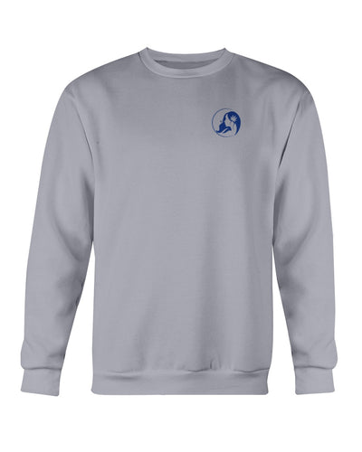 Ms. Mary's Sweatshirt (Small Blue Logo)