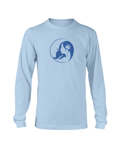 Ms. Mary's Long Sleeve Shirt (Large Blue Logo)