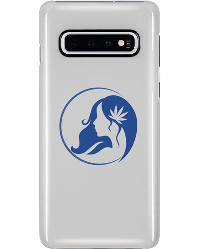 Ms. Mary's Samsung Case (Blue Logo)