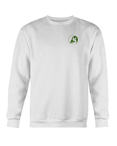 Ms. Mary's Sweatshirt (Small Green Logo)