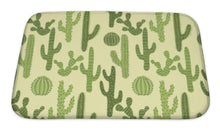 Load image into Gallery viewer, Bath Mat, Pattern With Cactus 1