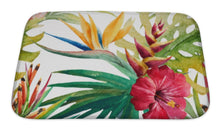 Load image into Gallery viewer, Bath Mat, Tropical Pattern