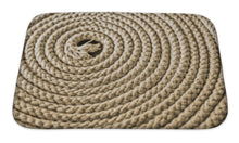 Load image into Gallery viewer, Bath Mat, Nautical Rope In Spiral