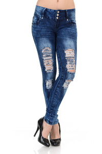 M.Michel Jeans, Push-Up - YC1620-R