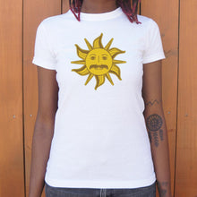 Load image into Gallery viewer, King Arthur Sun T-Shirt (Ladies)