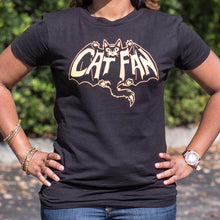 Load image into Gallery viewer, Cat Fan T-Shirt (Ladies)