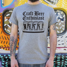 Load image into Gallery viewer, Craft Beer Enthusiast T-Shirt (Mens)