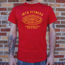 Load image into Gallery viewer, Into Fitness, Fitness Entire Pizza Into My Mouth T-Shirt (Mens)