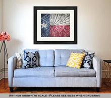 Load image into Gallery viewer, Framed Print, Flag Of Texas