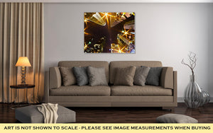 Gallery Wrapped Canvas, 1st January 2014 Charlotte Nc USA Nightlife Around Charlot