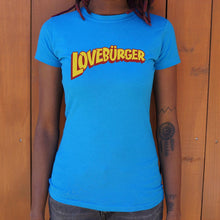 Load image into Gallery viewer, Loveburger T-Shirt (Ladies)