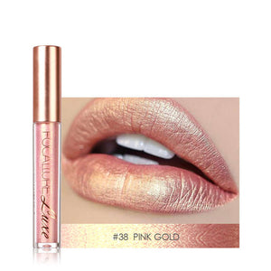 FOCALLURE Metallic Matte Liquid Lipstick