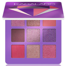 Load image into Gallery viewer, 9 Colors Glitter & Matte Eye Shadow Makeup Pallete