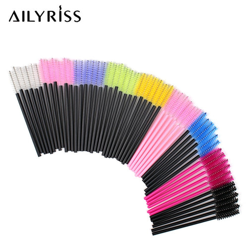 Disposable Eyelash Brush 25/50 Pcs/Pack