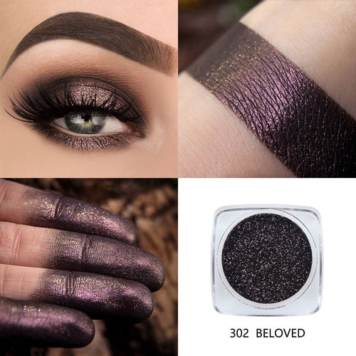 Highly Pigment Shimmering Glitter Eye Shadow Powder