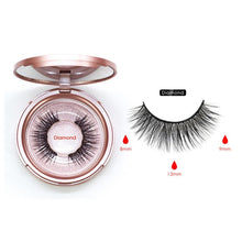 Load image into Gallery viewer, Magnetic Eyeliner Eyelashes Set Natural Thick - Handmade