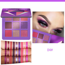 Load image into Gallery viewer, 9 Color Glitter Eyeshadow