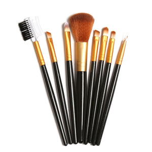 FOCALLURE 8 Piece Professional Makeup Brush Set