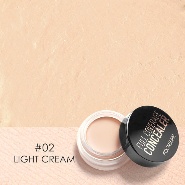 FOCALLURE 7 Colors Full Cover Concealer cream Makeup Primer Cover Foundation