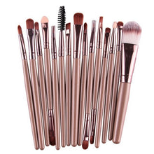 Load image into Gallery viewer, ROSALIND Professional 15 Pc Makeup Brush Set