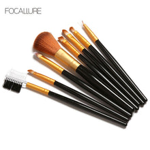 Load image into Gallery viewer, FOCALLURE 8 Piece Professional Makeup Brush Set