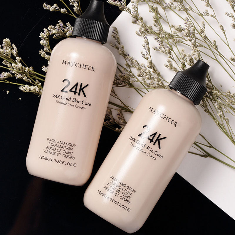 MayCheer 24K Skin Care Liquid Foundation Cream