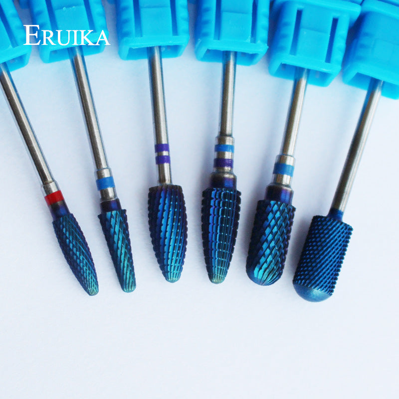 6 Type Blue Tungsten Carbide Burrs