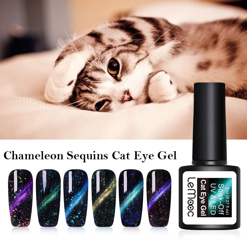 Chameleon Mermaid Shell UV Nail Gel
