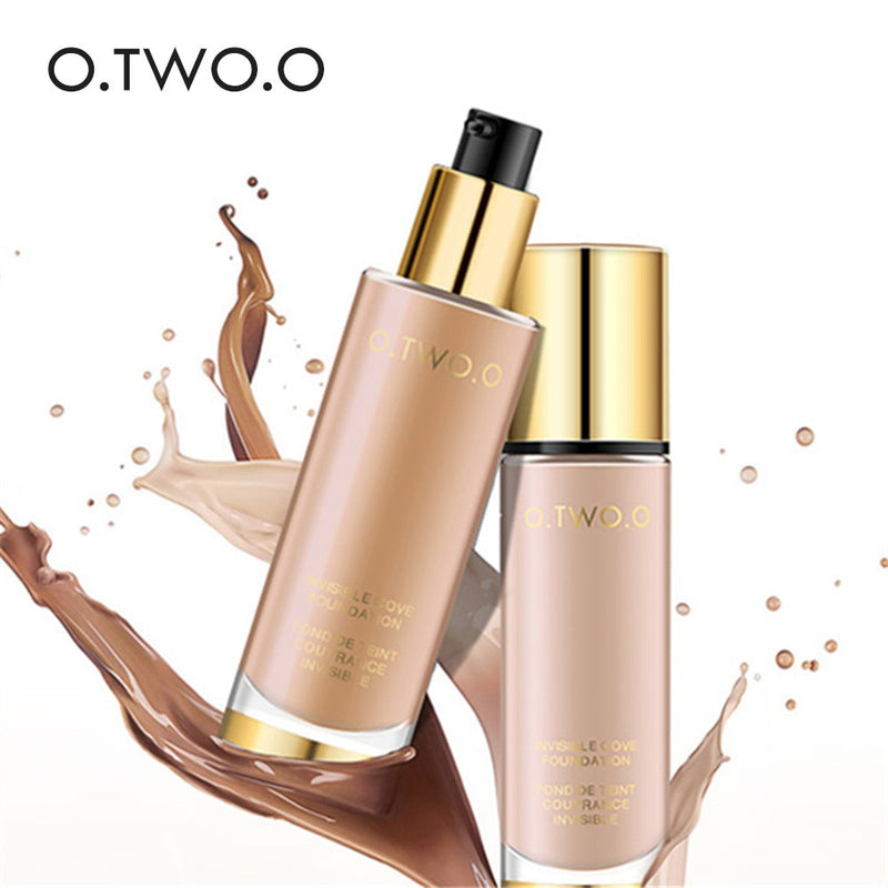O.TWO.O Liquid Foundation Invisible Full Coverage Make Up Concealer