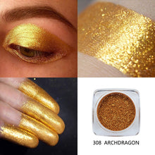 Load image into Gallery viewer, PHOERA Metallic Pigmented Diamond Shimmer Eye Shadow