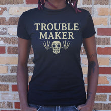 Load image into Gallery viewer, Troublemaker T-Shirt (Ladies)