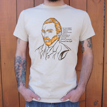 Load image into Gallery viewer, Vincent Van Gogh Quote T-Shirt (Mens)