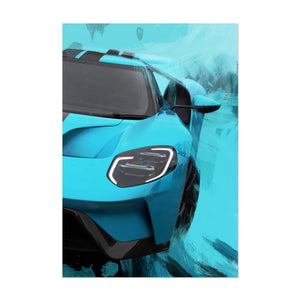 Jordan Maron Signed Car Poster Limited Edition