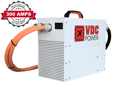 300 Amp Ground Power Units (Aircraft GPUs) - VDC Power
