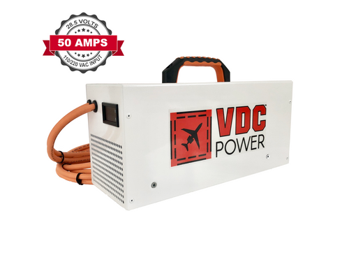 50 Amp Ground Power Units (Aircraft GPUs) - VDC Power