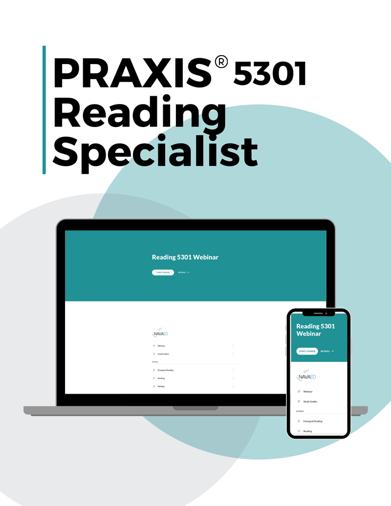 Praxis Reading Specialist 5301 Online Course