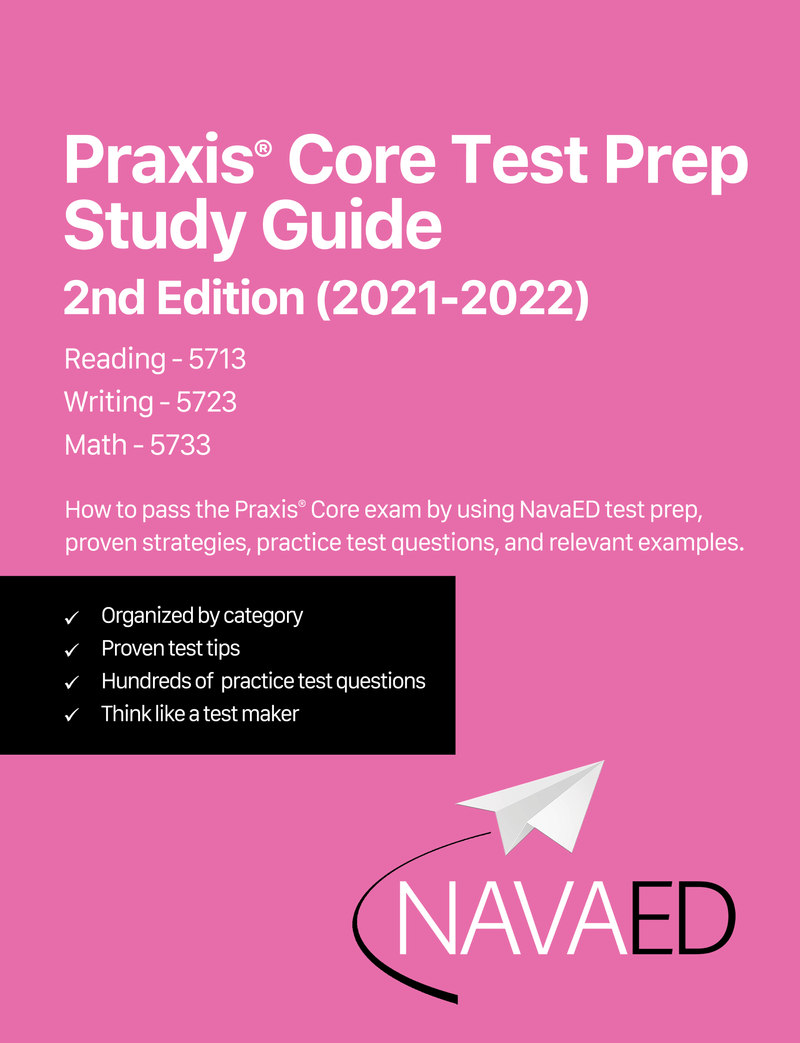 BRAND NEW Praxis Core 2nd Edition - Digital Study Guides