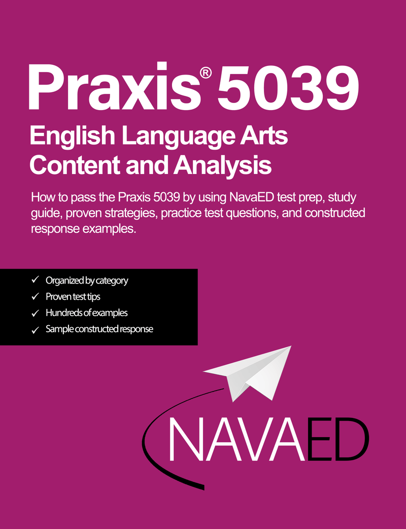 Praxis® 5039 English Language Arts Content and Analysis - Digital Study Guide
