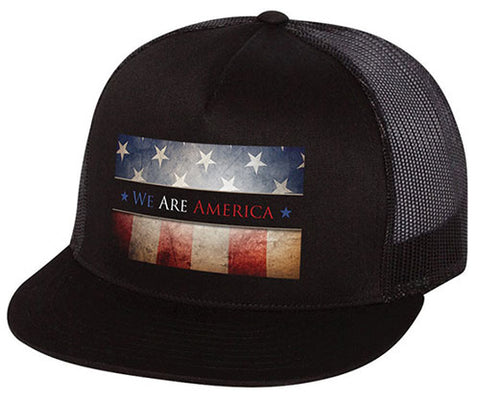 """We Are America"" Flat Bill Hat"