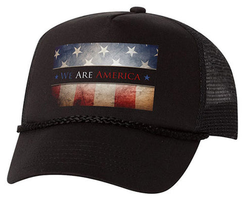 """We Are America"" Round Bill Hat"