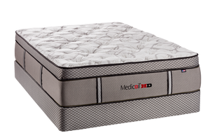 Medicoil HD Heavy Duty 5000 Pillow Top Mattress Set