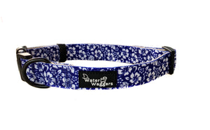 Blue Hawaiian Collar