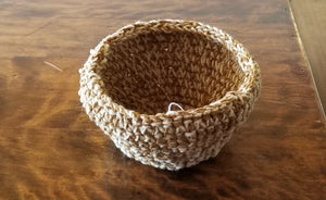 Goldenrod Medium Basket, #216