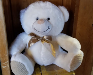 Teddy Bear, Large White