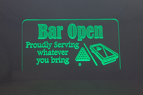 LED Base Lit Signs