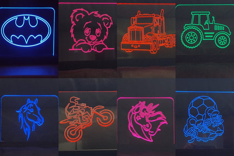Sml - Med signs /Kids Night Lights