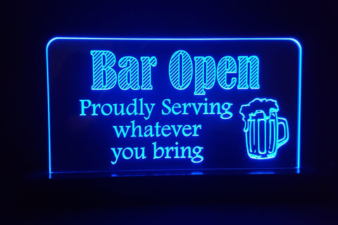 Bar Open - 4 Styles
