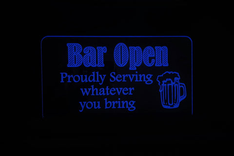 Bar Open - 3 Styles