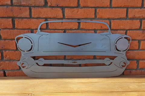 Corten Chevy Car Front